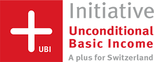 Unconditional Basic Income swiss initiative Logo